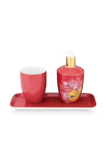 Bathroom Accessories Set Twinkle Star Pink