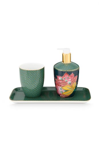 Bathroom Accessories Set Twinkle Star Green
