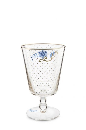 Royal Golden Dots water glass low