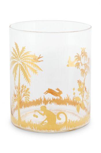 La Majorelle Water Glass Gold