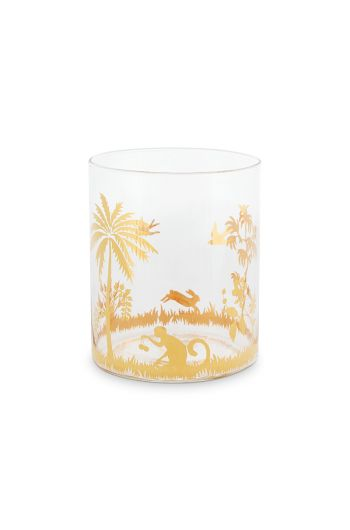 La Majorelle Water Glass Gold