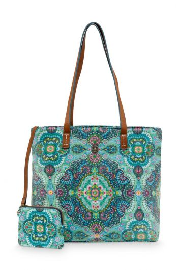 Shopper Medium Moon Delight Blauw