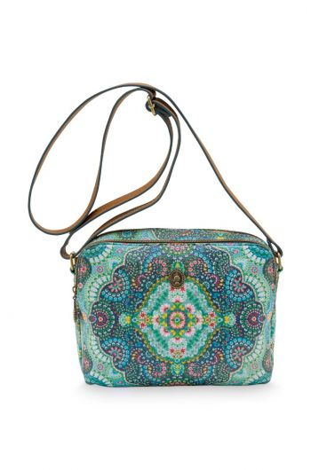 Schultertasche Medium Moon Delight Blau