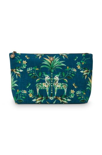 Beach Bag Pouch Large Tropic Twins