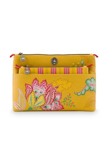 Cosmetic Bag Combi Jambo Flower Yellow