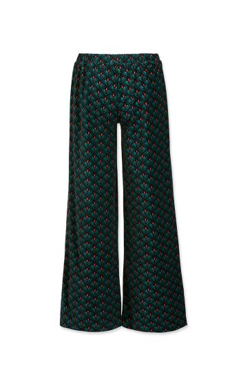 Trousers Long Lilly Lotus Green Velvet