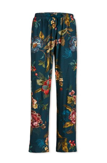 Trousers Long Poppy Stitch Blue