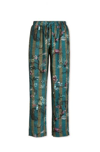 Trousers Long Woodland Nights Stripe Blue