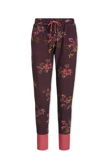 Trousers Long Woodsy Tales Dark Red