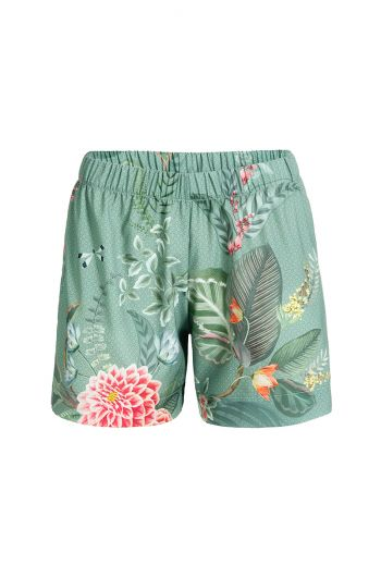 Trousers Short Floris Grande Green