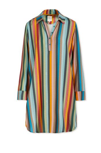 Nightdress Folklore Stripe Multi