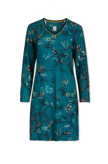 Nightdress Woodland Nights Blue