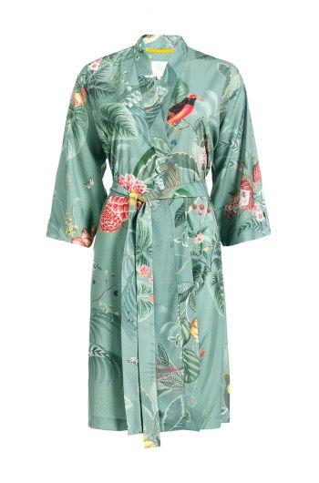 Kimono Floris Grande Green
