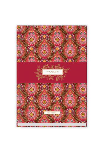 address-book-a5-moon-delight-with-flower-print-red