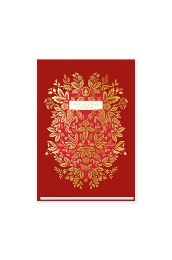 address-book-a6-moon-delight-with-flower-print-red