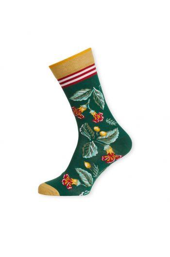 Socken Leaf Loris Grün