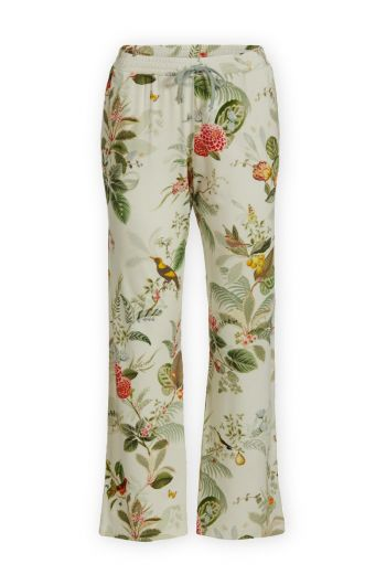 Trousers Long Floris Off White