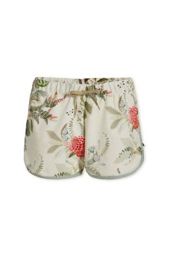 Trousers Short Floris Off White