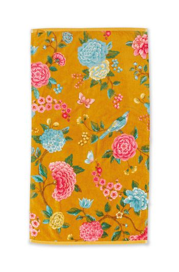 bath-towel-good-evening-gelb-blumen-55x100-pip-studio-217797