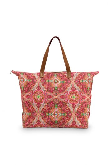 strand-tasche-moon-delight-in-red-mit-blumen-design
