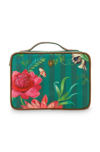 beauty-case-square-large-fleur-grandeur-green-27x19x10-cm-nylon/satin-1/12-pip-studio-51.274.134