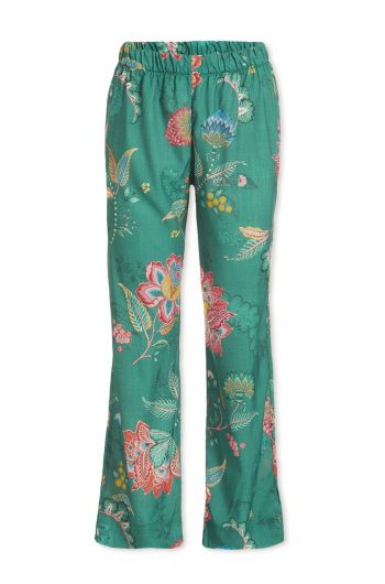 Trousers Long Jambo Flower Green