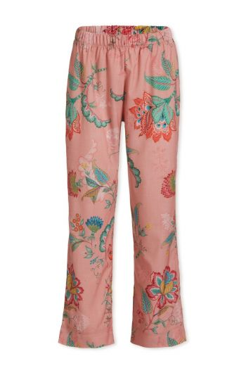 Trousers Long Jambo Flower Pink