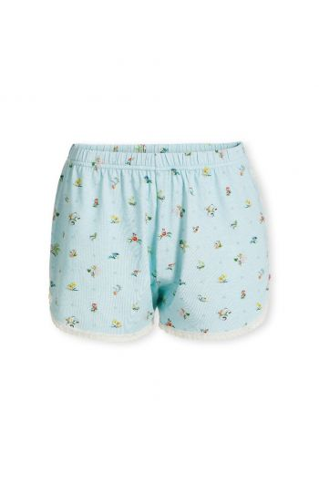 Trousers short Moss Blue