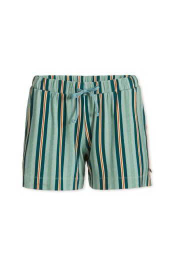 Trousers Short Blurred Lines Green