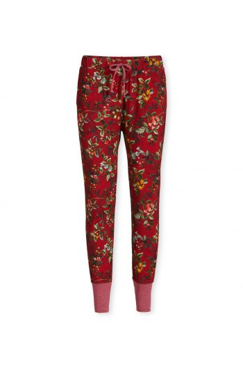 Trousers Long Berry Delight Red
