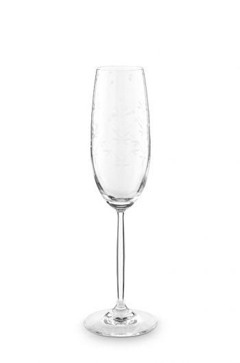 Basics Champagnerglas Etching