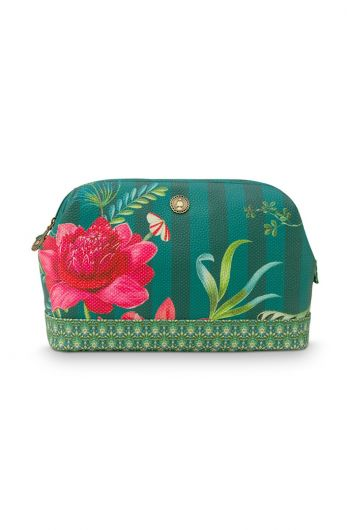 cosmetic-purse-large-fleur-grandeur-green-26x12x18-cm-artificial-leather-1/24-pip-studio-51.274.140