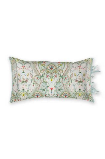 cushion-rectangle-curious-animals-white-flowers-pip-studio