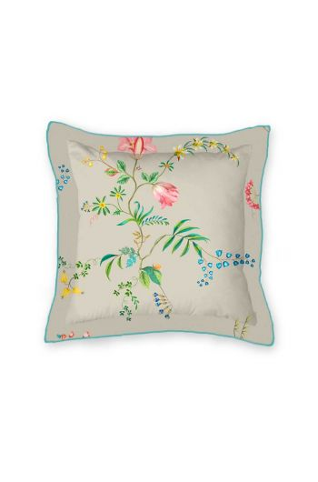 cushion-square-fleur-grandeur-khaki-flowers-pip-studio