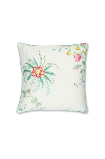 cushion-square-quiled-fleur-grandeur-white-flowers-pip-studio