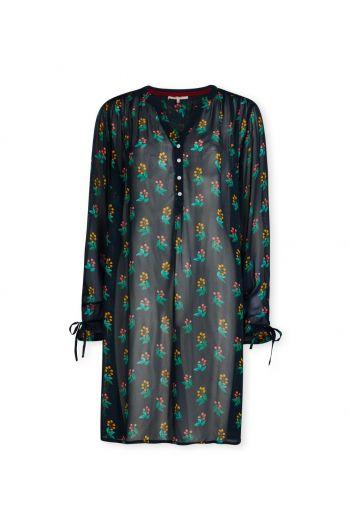 Nachthemd mit Langen Ärmeln Berry Good Blau