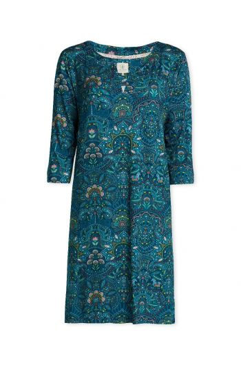 Nightdress 3/4 sleeve Sunrise Blue