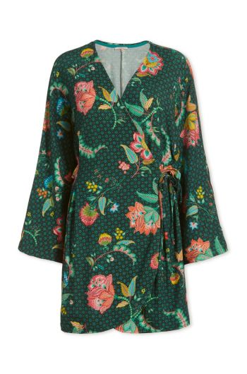 Wrap dress Jambo Jasmin Green