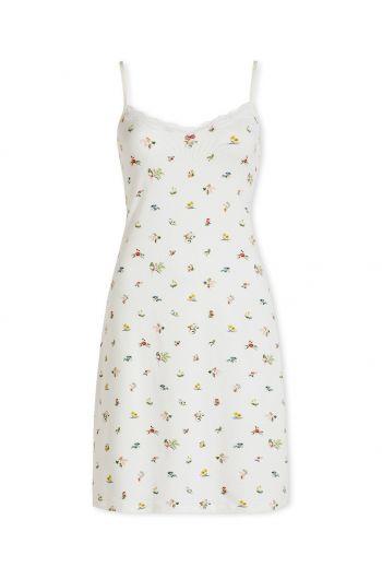 Nightdress sleeveless Moss White
