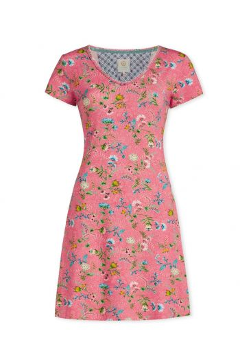Nightdress short sleeve La Majorelle Pink