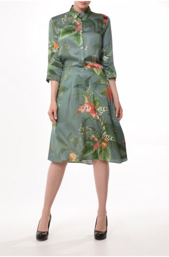 Bany Dress Birdflower