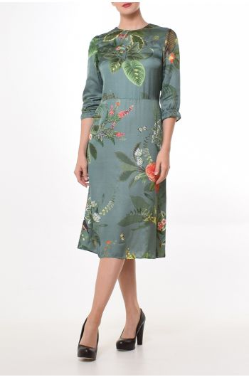 Bess Dress Birdflower