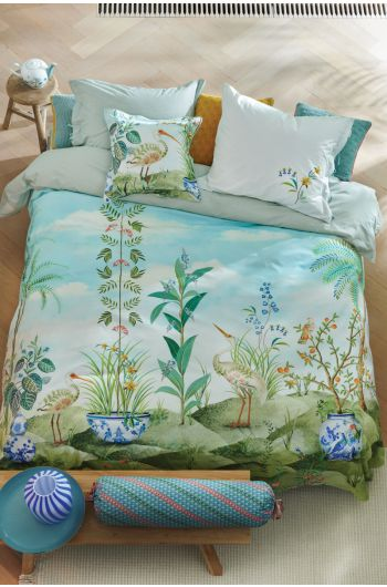Duvet-cover-jolie-white-tree-flowers-peaches-pip-studio-2-persons