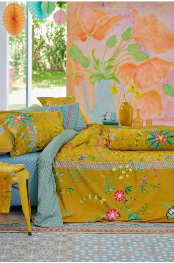 Duvet-cover-flower-yellow-petites-fleurs-pip-studio-2-persons-240x220-140x200-cotton