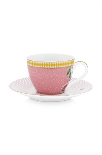 espresso-kop-en-schotel-la-majorelle-van-porselein-met-bloemen-in-roze