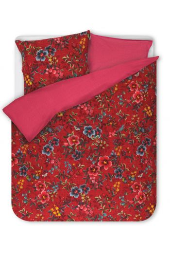 Duvet cover Floral Delight Red