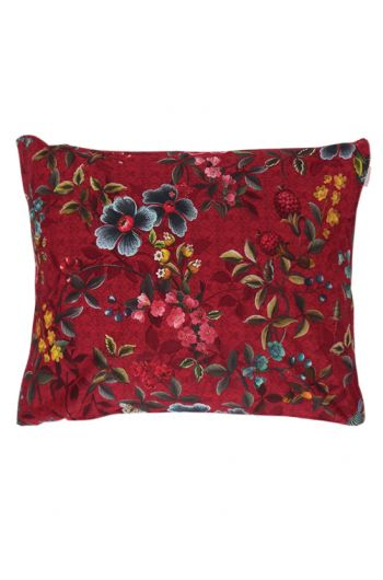 Kussensloop Floral Delight Rood