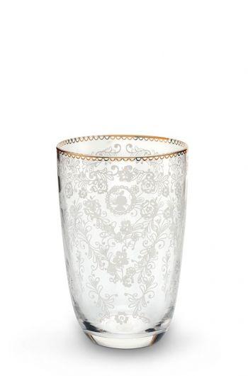 Floral longdrink glas