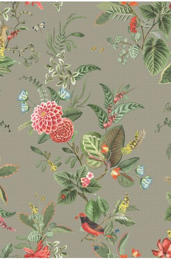 Floris Wallpaper Khaki