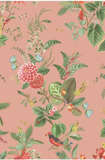 Pip Studio Floris Wallpaper Pink